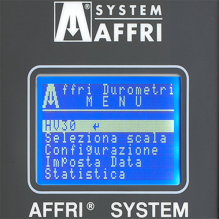 Durometro universale VRS software